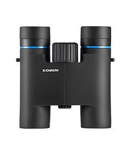 MINOX BLU 10x25 Binoculars - 10x Magnification w/Makrolon Ho