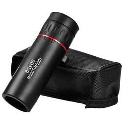 Mini Portable Zoom Scope 30x25 Monocular Telescope for Trave