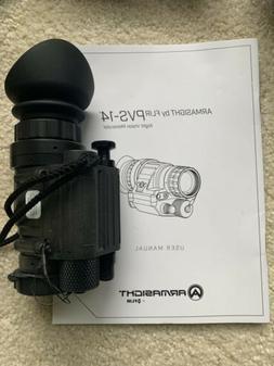 ARMASIGHT by FLIR PVS-14-51 3G Night Vision Monocular Gen 3