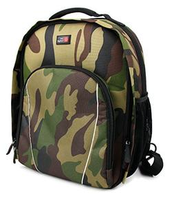 DURAGADGET Camouflage Water-Resistant Rucksack with Customiz