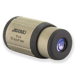 CARSON CF-718 Monocular,Magnification 6X,Prism Roof