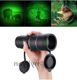 Day&Night Vision 40x60 HD Optical Monocular Telescope Outdoo