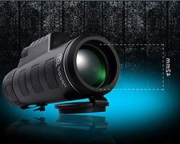 Day&Night Vision 40X60 HD Optical Monocular Hunting Camping