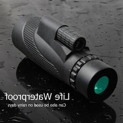 Day & Night Vision 40x60 Optical Monocular Telescope Hunting