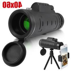 Day Night Vision 40X60 HD Optical Monocular Hunting Camping