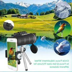 Day Night Vision 40x60 HD Optical Monocular Camping Hiking T
