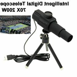 Digital USB Telescope Monocular Camera Zoom Tape For Photogr
