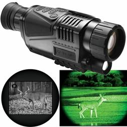 Double Sun  5x40 Infrared Digital Night Vision -HD monocular