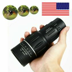Dual Focus Monocular Optics 16x52 Zoom Telescope Bird Watchi