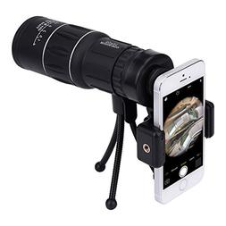 16x52 Dual Focus Monocular Telescope, Waterproof Spotting Sc