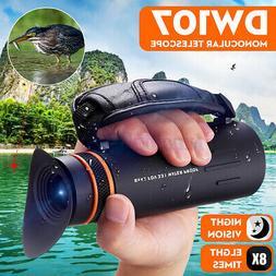 dw107 monoculars 8x low light night vision