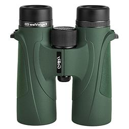 Gosky EagleView 10x42 Binoculars for Adults, Professional ED