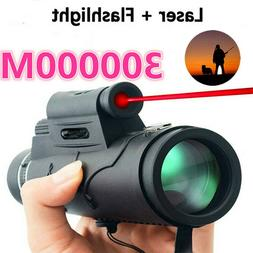 Extra Long 30000M Compass Flashlight+infrared Distance teles