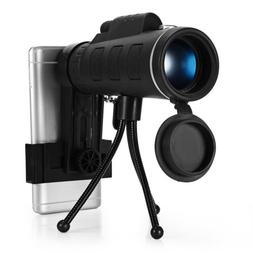 Foldable 40X magnification Monocular Telescope HD Prism Scop