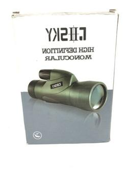 Gosky Skyhawk 12x50 Monocular Scope - High Definition WaterP