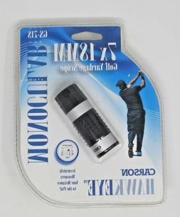 HawkEye 7x18mm Golf Scope