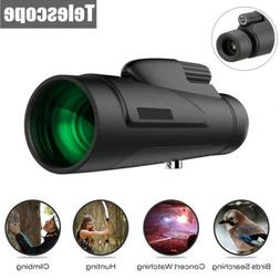 12x50 Day & Night Vision HD Optical Monocular Hunting Campin