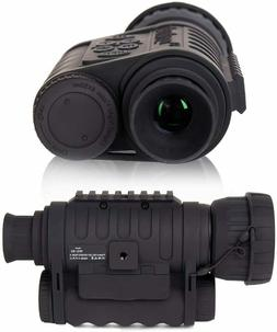 HD 6x50mm 1150 ft Digital Night Vision Infrared Monocular Ca