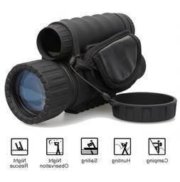 HD 720P 5MP WG-50 IR Infrared Night Vision Monocular Telesco