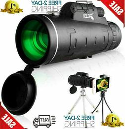 HD Monocular Starscope Phone Camera Zoom Lens 12X50