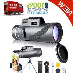 HD Monocular Starscope Phone Camera Zoom Lens 12X50 Camping