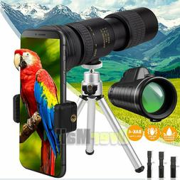 HD Monocular Starscope Phone Camera Zoom Lense+Tripod Bag Ph