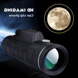 HD Monocular Starscope Phone Camera Zoom Lense W/Bag Phone T
