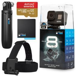 GoPro - HERO8 Black 4K Waterproof Action Camera Special Bund