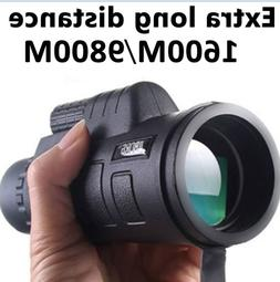 High Power 40X60 HD Monocular Telescope Shimmer lll Night Vi