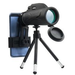High Power 80x100 HD Monocular Telescope Night Vision Outdoo