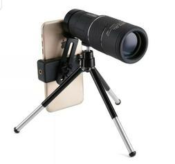 High Power Monocular Telescope,OUTERDO 10x40 Dual Focus BAK-