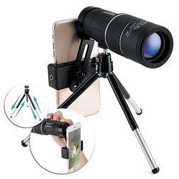 High Power Monocular Telescope,OUTERDO 16x52 Dual Focus BAK-