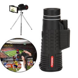 HOT Zoomable Lens Monocular Telescope+ Tripod+ Clip For Univ