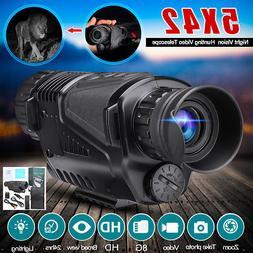 Infrared Dark Night Vision 5X40 Monocular Binoculars Telesco