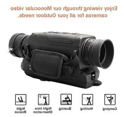 Infrared Night Vision 5x40 Zoom Monocular for Hunting / Hiki