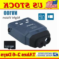 BOBLOV 4GB NV100 2x Digital Night Vision Monocular Optics Sc