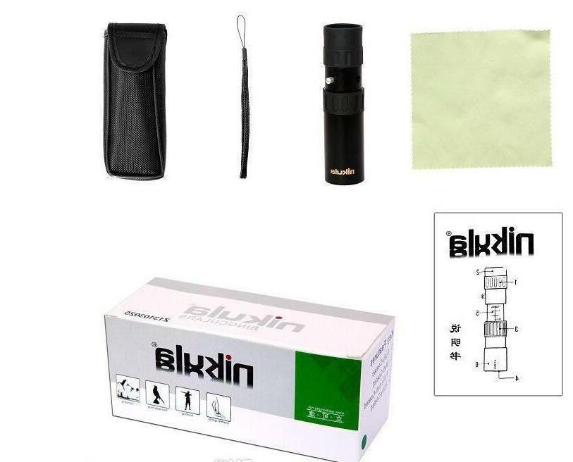 Nikula 10-30x25 High Power Mini Pocket Size Monocular scope