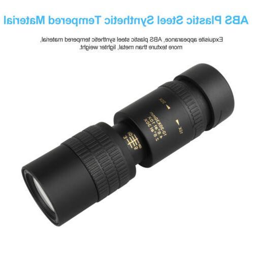 10-30X30mm Monocular BAK4 Super Portable Ourdoor
