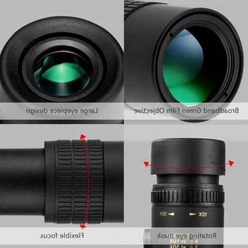 10-30X30mm Zoom BAK4 Telephoto Portable
