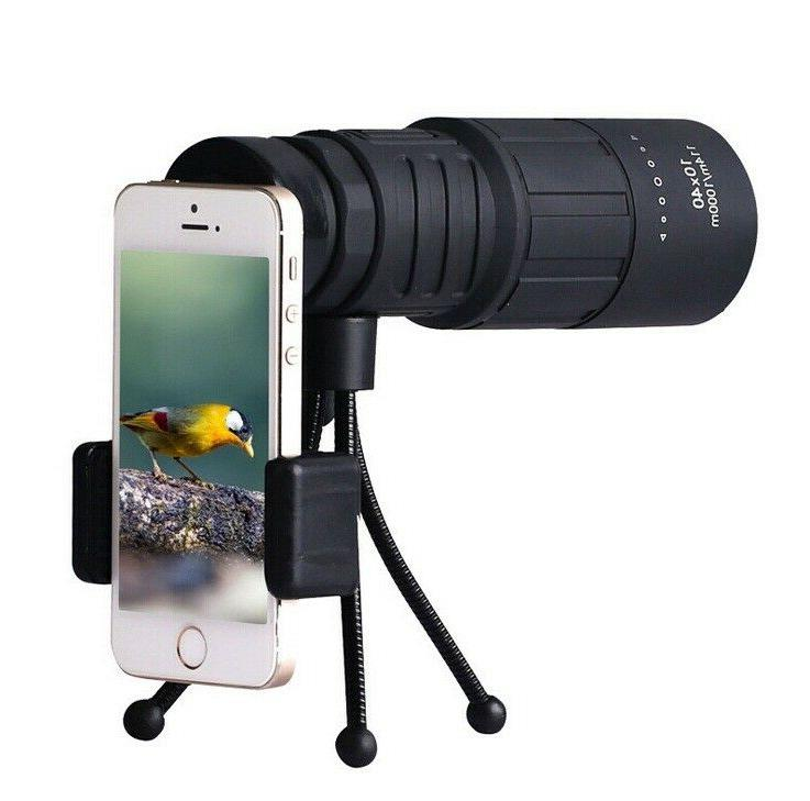 10x40 High Definition Power Telescope Cellphone