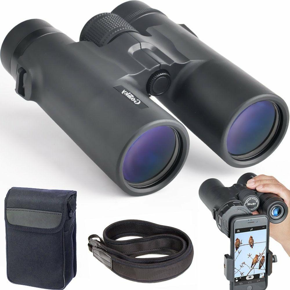 Watching Travelling Stargazing Hunting Outdoor Prism and Clear Optics- With Carrying