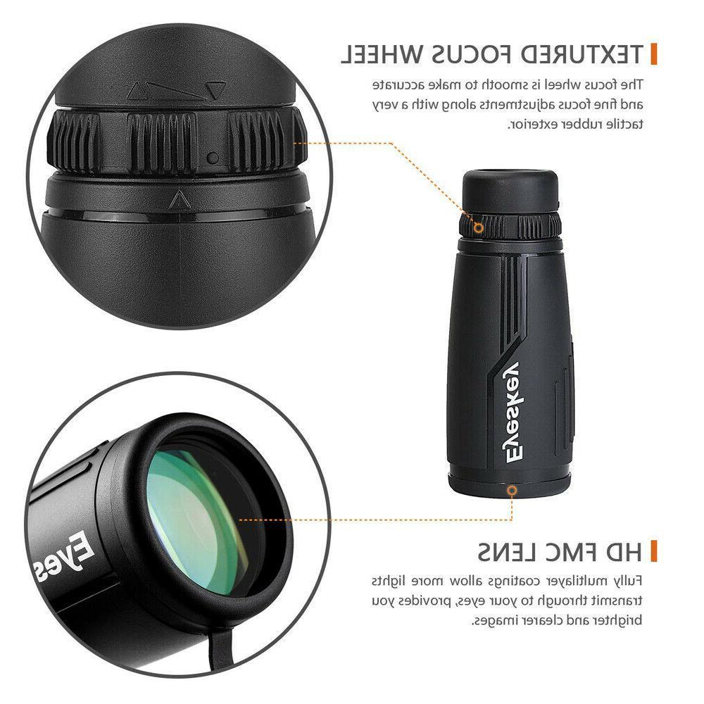 Eyeskey Waterproof Monocular BaK4 Prism Optics Hunting