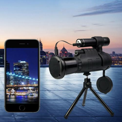 Infrared Monocular Optical 40x60 Telescope Durable