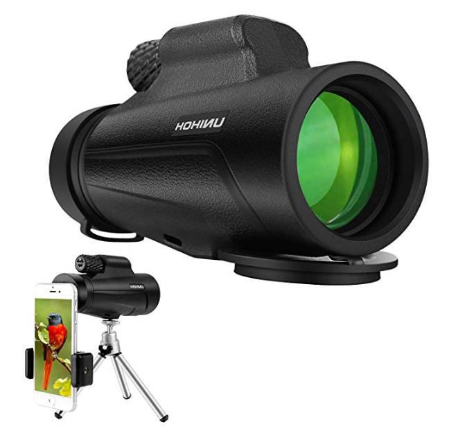 12x50 high power monocular hd dual focus