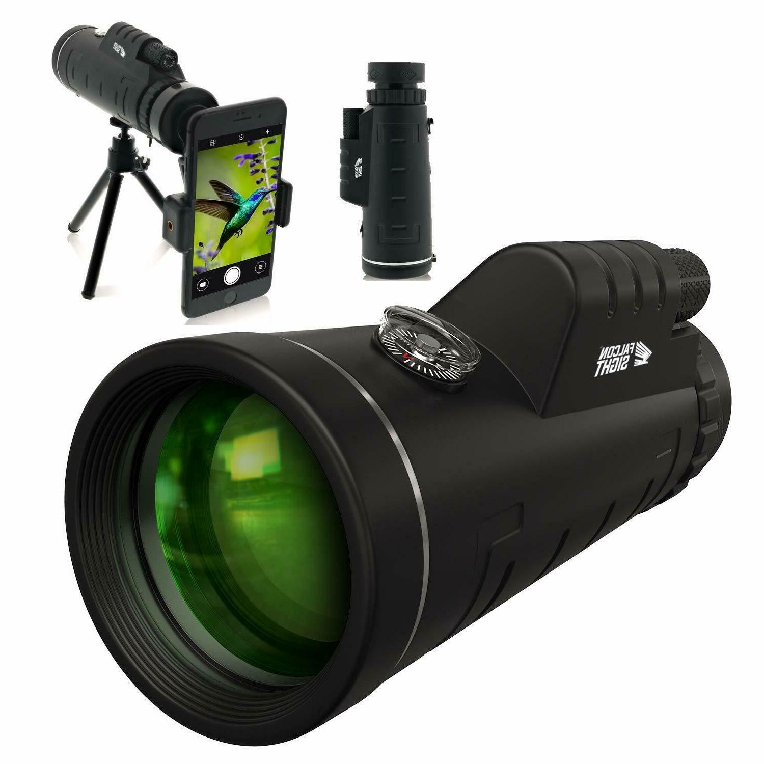 12x50 monocular telescope high powered bak4 prism