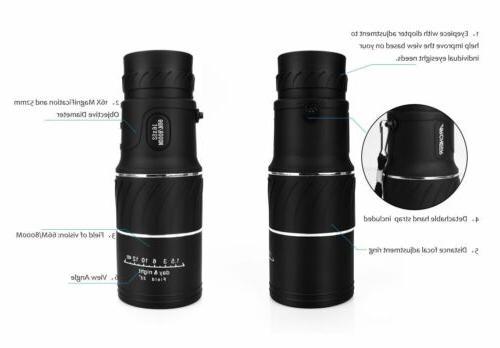 16x52 Night Vision Optical Hiking USA