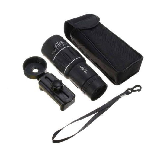 16X52 Day/Night Vision Monocular Telescope