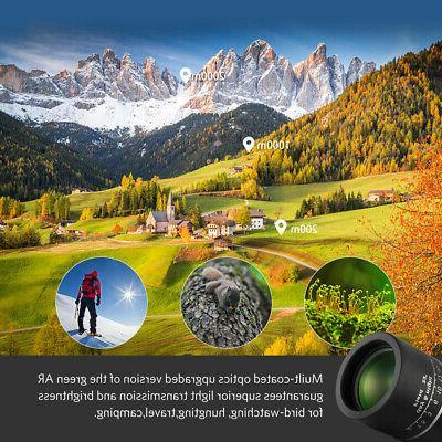 ARCHEER 16x52 Zoom Optical Monocular Dual Focus Vison
