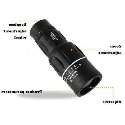 Monocular Telescope HD High Power W/ Night