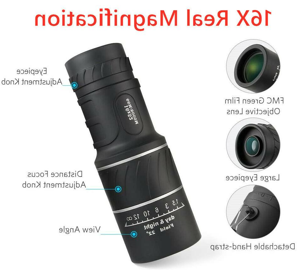 16x52 Binocular with Night Waterproof
